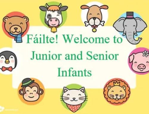 Junior Infants & Senior Infants 2021-2022